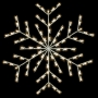 Silhouette Deluxe Forked Snowflake - Ground Mount