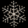 Silhouette Winterfest Forked Snowflake - Ground Mount