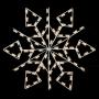 Silhouette Winterfest Diamond Snowflake - Ground Mount