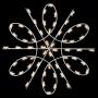 Silhouette Spiral Snowflake - Ground Mount