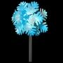 Hammered Metal Snowflake Tree Topper
