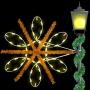 4.5' Enhanced Spiral Snowflake Spade Mount