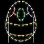 5' Silhouette Easter Egg 2