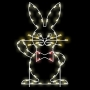 5' Silhouette Easter Bunny