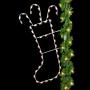 7' Silhouette Christmas Stocking - Pole Mount - Signature Series