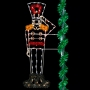 8' Enhanced Saluting Toy Soldier - Pole Mount