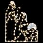 6' Silhouette Jesus, Mary & Joseph - Ground Mount
