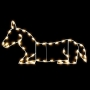 3.25' Silhouette Donkey (Nativity) - Ground Mount