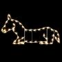 3.25' Silhouette Donkey (Nativity) - Ground Mount