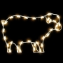 2.5' Silhouette Sheep - Building Mount
