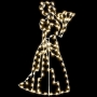 7.5' Silhouette Victorian Lady Ground Mount